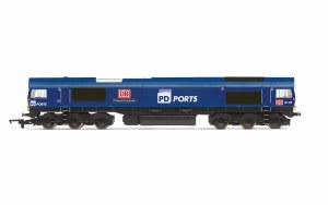 Hornby OO R3919 PD Ports, Class 66, Co-Co, 66109 'Teesport Express' - Era 11