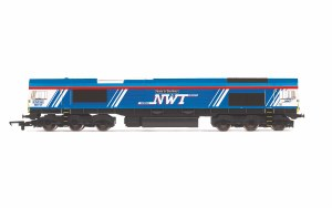 Hornby OO R3940 GBRf/Newell & Wright, Class 66, Co-Co, 66747 'Made in Sheffield' - Era 11