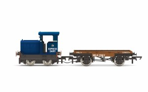 Hornby OO R3943 Express Dairy Co. Ltd, Ruston & Hornsby 48DS, 0-4-0, 235511 - Era 4/5/6