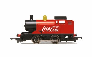 Hornby OO R3955 Coca-Cola, 0-4-0T Steam Engine