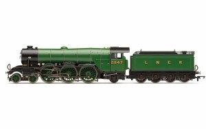 Hornby OO R3990 LNER, A1 Class, No. 2547 'Doncaster' (diecast footplate and flickeirng firebox) - Era 3