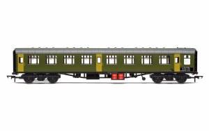 Hornby OO R40007 BR Departmental, ex-Mk1 SK Ballast Cleaner Train Staff Coach, DB 975802 - Era 7