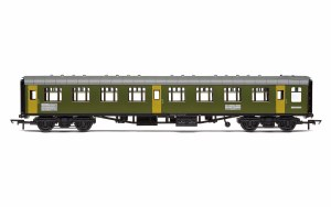 Hornby OO R40008 BR Departmental, ex-Mk1 SK Ballast Cleaner Train Staff Coach, DB 975804 - Era 7