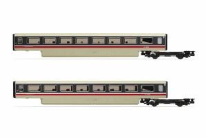 Hornby OO R40011A BR, Class 370 Advanced Passenger Train 2-car TS Coach Pack, 48201 + 48202 - Era 7
