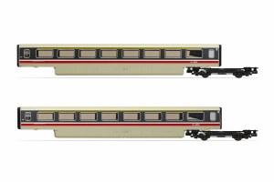 Hornby OO R40014A BR, Class 370 Advanced Passenger Train 2-car TF Coach Pack, 48501 + 48502 - Era 7