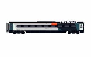 Hornby OO R40015 Avanti West Coast, Pendolino Pantograph Standard Buffet (PTSRMB) 69856