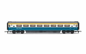 Hornby OO R40041A LNER (BR), Mk3 Trailer First Open (TFO) (Farewell Tour), Coach L, 41118 - Era 11