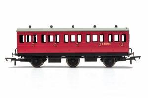 Hornby OO R40078 BR, 6 Wheel Coach, 3rd Class, E31070 - Era 4