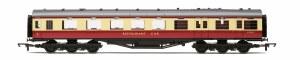 Hornby OO R4188D Stanier 68' Period II Dining / Restaurant Car M236M BR Crimson & Cream