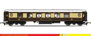 Hornby RailRoad OO R4312 Pullman All-steel K Type First Parlour Pullman Umber & Cream (Silver Roof)