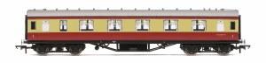 Hornby OO R4447B Stanier Period III First Corridor M1047M BR Crimson & Cream