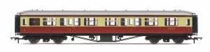 Hornby OO R4493B Hawksworth 63' First Corridor W8119W BR Crimson & Cream