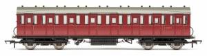 Hornby OO R4520B Gresley 51' Suburban Non-Vestibuled Third E82190E BR Maroon