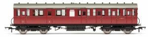 Hornby OO R4521C Gresley 51' Suburban Non-Vestibuled Composite E88067E BR Maroon