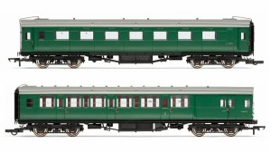 Hornby OO R4534E BR Pull-Push Coach Pack