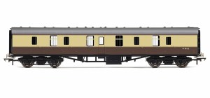 Hornby RailRoad OO R4626 Mk1 Parcels Coach BR (WR) Chocolate & Cream