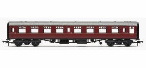 Hornby RailRoad OO R4627 Mk1 TSO Tourist Second Open BR Maroon