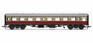 Hornby RailRoad OO R4628 Mk1 TSO Tourist Second Open BR Crimson & Cream