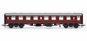 Hornby RailRoad OO R4629 Mk1 TSO Tourist Second Open BR Maroon