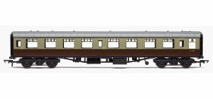 Hornby RailRoad OO R4630 Mk1 TSO Tourist Second Open BR (WR) Chocolate & Cream