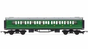 Hornby RailRoad OO R4743 Maunsell Composite Corridor 5505 SR Malachite Green