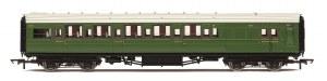 Hornby OO R4768A Maunsell Brake Third Class Corridor (High Windows) 3779 SR Maunsell Olive Green