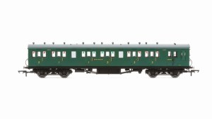 Hornby OO R4794 Maunsell 58' Rebuilt (Ex-LSWR 48') Six Compartment Brake Composite 6403 SR Malachite Green