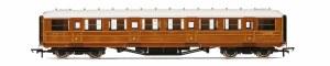 """Hornby OO R4827 Gresley 61' 6"""" First Corridor 31885 LNER Teak"""