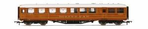 """Hornby OO R4829 Gresley 61' 6"""" Buffet Corridor 21611 LNER Teak"""