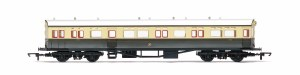 Hornby OO R4831 63' Collett A30 Autocoach 190 GWR Chocolate & Cream (Shirtbutton)