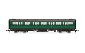 Hornby OO R4882 Bulleid 59' Composite Corridor 5711 SR Malachite Green