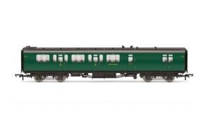 Hornby OO R4884 Bulleid 59' Brake Third Corridor 2845 SR Malachite Green