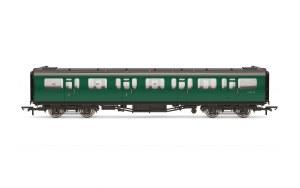 Hornby OO R4886 Bulleid 59' Composite Corridor S5714S BR Green