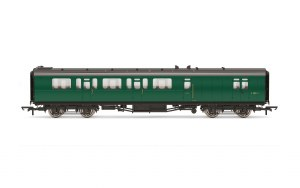 Hornby OO R4888A Bulleid 59' Brake Third Corridor S2852S BR Green