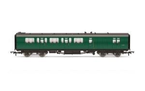 Hornby OO R4888B Bulleid 59' Brake Third Corridor S2859S BR Green