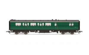 Hornby OO R4888C Bulleid 59' Brake Third Corridor S28605S BR Green