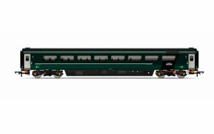 Hornby OO R4915 Mk3 TS Trailer Standard (Sliding Door) (HST) GWR Green (FirstGroup)
