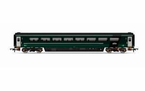 Hornby OO R4915A Mk3 TS Trailer Standard (Sliding Door) (HST) GWR Green (FirstGroup)