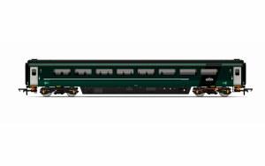 Hornby OO R4915B Mk3 TS Trailer Standard (Sliding Door) (HST) GWR Green (FirstGroup)