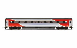 Hornby OO R4929A Mk3 TF Trailer First (Open) (HST) 41150 LNER (2018+) Red & Silver