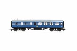 Hornby OO R4960 LMS, Stanier D1905 Coronation Scot 57' BTK, 5812 - Era 3