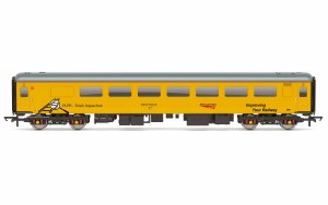 Hornby OO R4993 Network Rail, ex-BR Mk2F TSO Brake Plain Line Pattern Recognition Vehicle PLPR2, 5981 - Era 11
