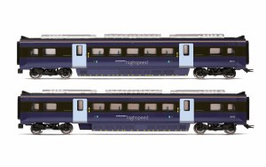 Hornby OO R4999 South Eastern, Class 395 Highspeed Train 2-car Coach Pack, MSO 39134 and MSO 39135 - Era 11
