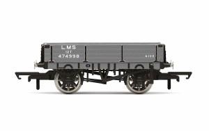Hornby OO R60022 3 Plank Wagon, LMS - Era 3