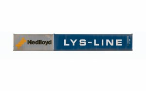 Hornby OO R60044 Nedlloyd & LYS-Line, Container Pack, 1 x 20' and 1 x 40' Containers - Era 11
