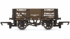 Hornby OO R6745 4 Plank Wagon Hingley and Sons Ltd