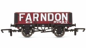 Hornby OO R6749 5 Plank Wagon Farndon