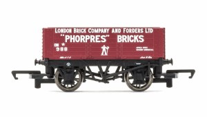 Hornby OO R6754 6 Plank Wagon 'London Brick Company' No 988