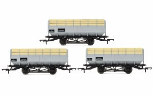 Hornby OO R6783 BR 20 Ton Coke Hopper Wagons - Three Wagon Pack