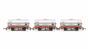 Hornby OO R6788 20 Ton Tank Wagon, ICI - Three Wagon Pack